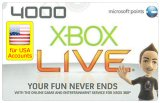 4000 Microsoft Points USA kaufen