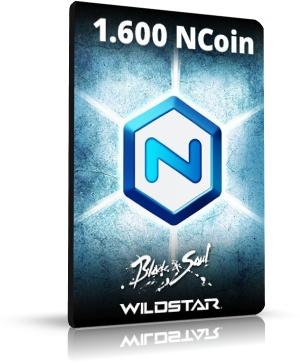NcSoft 1600 Ncoin Card