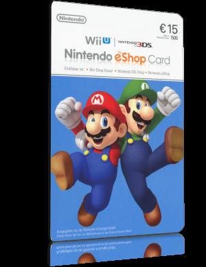 Nintendo Eshop Karte.Nintendo Eshop Card 15 Euro Guthaben