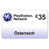 (AT) PlayStation Network PSN Card 35EUR
