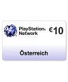 (AT) PlayStation Network PSN Card 10EUR