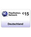 (DE) PlayStation Network PSN Card 15EUR