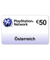(AT) PlayStation Network PSN Card 50EUR