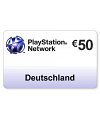 (DE) PlayStation Network PSN Card 50EUR