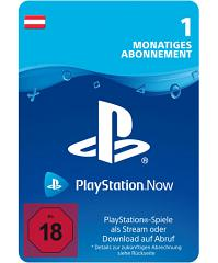PlayStation Now - PS Now 1 Monat Code Österreich
