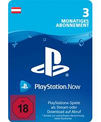 PlayStation Now - PS Now 3 Monate Code Österreich