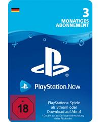 PlayStation Now - PS Now 3 Monate Code Deutschland