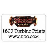 Dungeons & Dragons online - 1800 Turbine Points