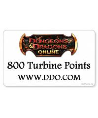 Dungeons & Dragons online - 800 Turbine Points