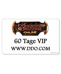 Dungeons & Dragons GameCard 60 Tage DDO VIP