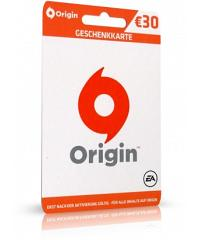 EA Origin Cash Card 30 Euro Deutschland