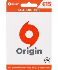 EA Origin Cash Card 15 Euro Deutschland