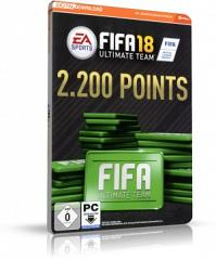 FIFA 18 2200 FUT Fifa Points - Origin Code für PC