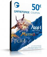 50EUR Gameforge Coupon