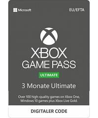 Xbox GamePass Ultimate 3 Monate inkl. Gold