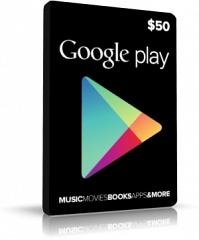 Google Play Card USA 50USD Guthaben