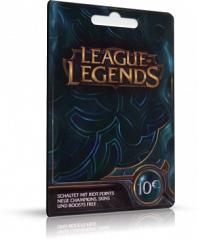 League of Legends - 10EUR Card Code