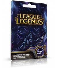 League of Legends - 20EUR Card Code