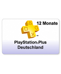 [DE] PlayStation Plus 12 Monate Deutschland