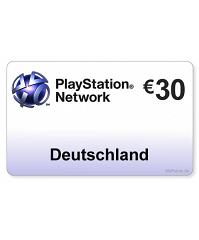 (DE) PlayStation Network PSN Card 30EUR