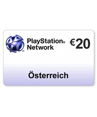 (AT) PlayStation Network PSN Card 20EUR