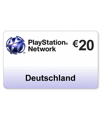 (DE) PlayStation Network PSN Card 20EUR