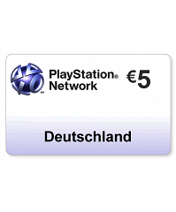 (DE) PlayStation Network PSN Card  5EUR
