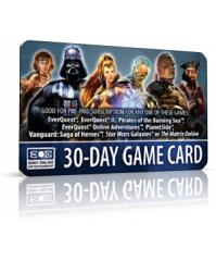 SOE GameCard - Sony Station Pass 30 Tage