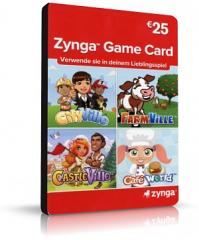 Zynga Game Card 25EUR